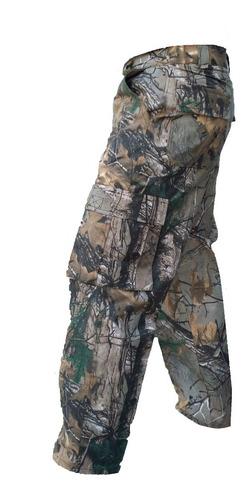 set pantalon y camisa camuflaje caceria profesional caza