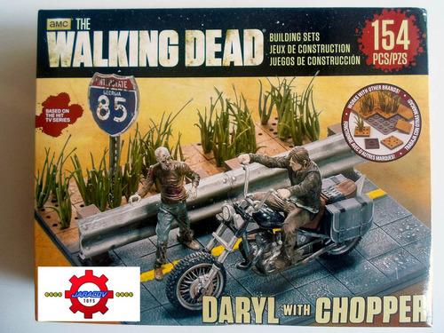 set para armar daryl dixon con moto chopper the walking dead
