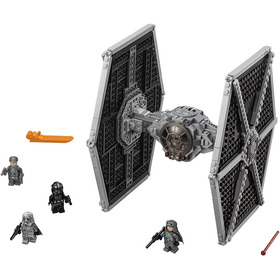 Set Para Armar Nave Tie Fighter Star Wars Tipo Lego
