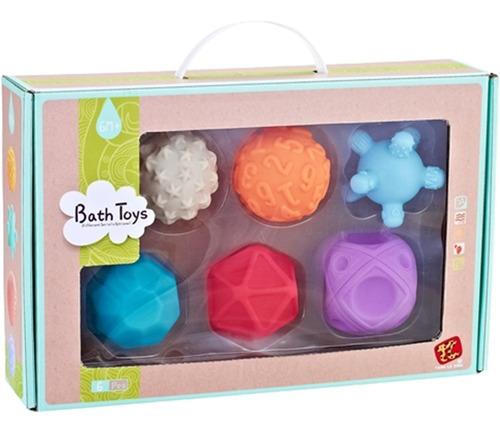 set para bañera marca lt: pelotas suaves soft balls colores