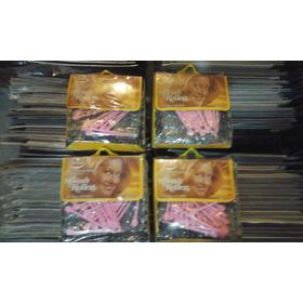 Set Para Chinos De Cabello Vintage Brush Rollers