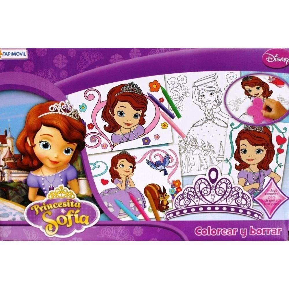 Set Para Colorear Y Borrar Princesa Sofia - $ 147,41 en Mercado Libre