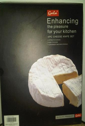 set para cortar y servir quesos