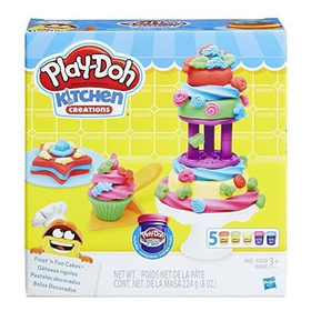 Set Para Hacer Pasteles Play-doh Kitchen Creations