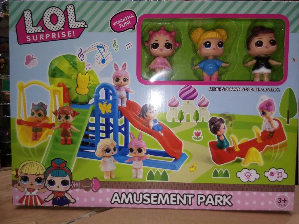 Set Parque Entretencion Juegos Lol Imitacion 18 990 En Mercado Libre