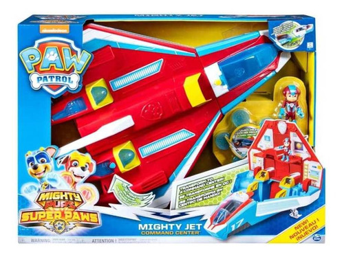 set paw patrol spin master jet supersónico