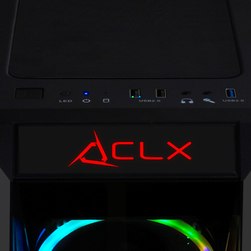 set pc gaming clx, amd ryzen 5 2600 3.4 ghz, nvidia