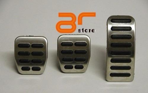set pedales votex vw audi seat aluminio look tt deportivos