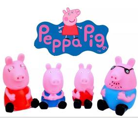 Hule Pig Niño Peppa Familia Set George Sonido Juguete rBCxdQoeW