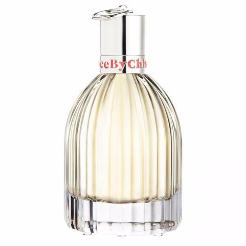set perfume see by chloe 75ml+body lotion+shower gel, dama