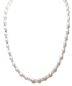 96798d7c0255 Set Perla Cultivada Cristals Swarovski Broche De Plata A010