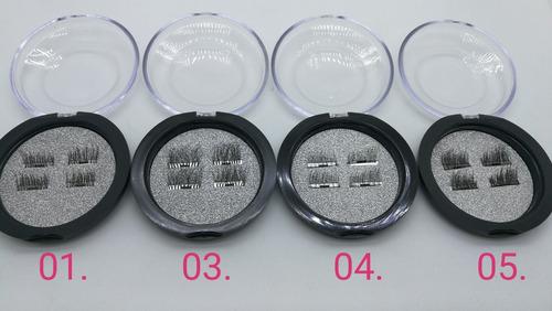set pestañas magnéticas 3d set 4 pcs, imanes