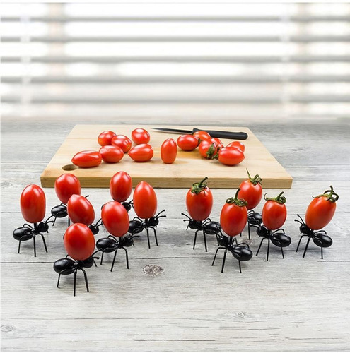 set pinches hormiga x 12 picada copetin copetinero tabla