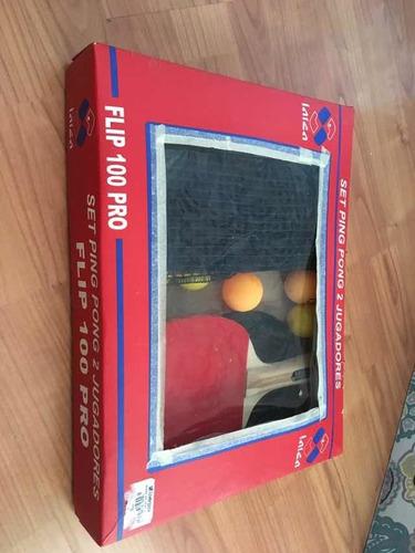 set ping pong 2 jugadores