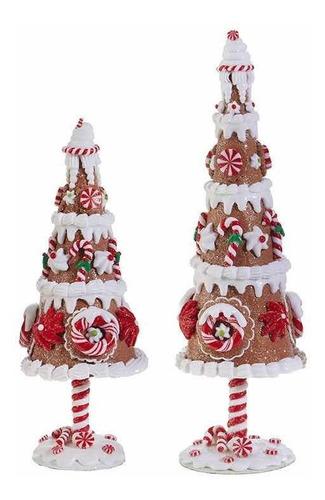 set pinos de genjibre navidad