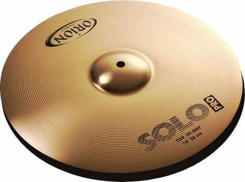 set platillos orion solo pro hi hat 14 crash 16 palilllos