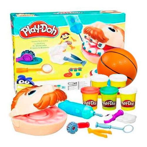 set play doh dentista bromista hasbro + pelota regalo el rey