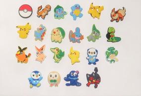 Pokemon Pin Crocs 22pz Set Tipo Decoracion Sandalias De Para qMpUzSV