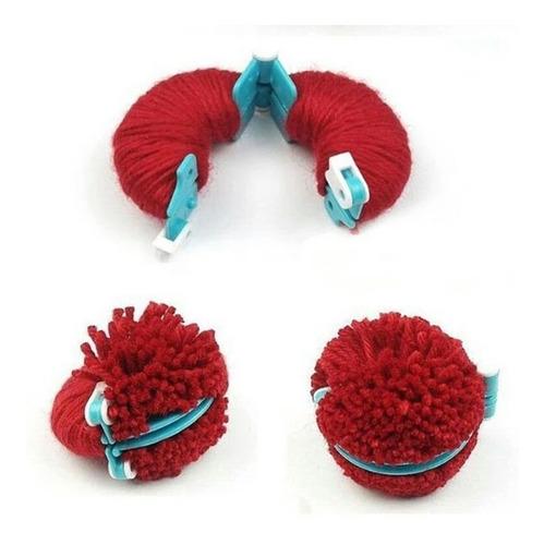set pomponeras 4 tamaños, pompom maker