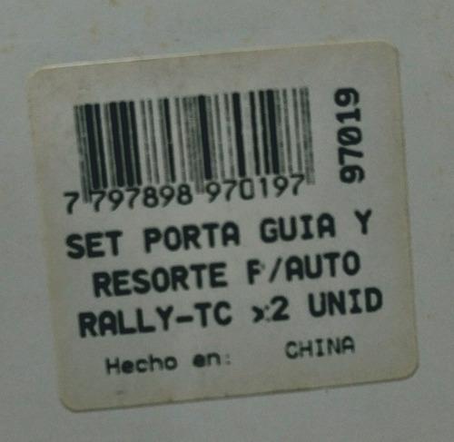 set porta guia y resorte p/auto rally-tc 1/32 sk 97019