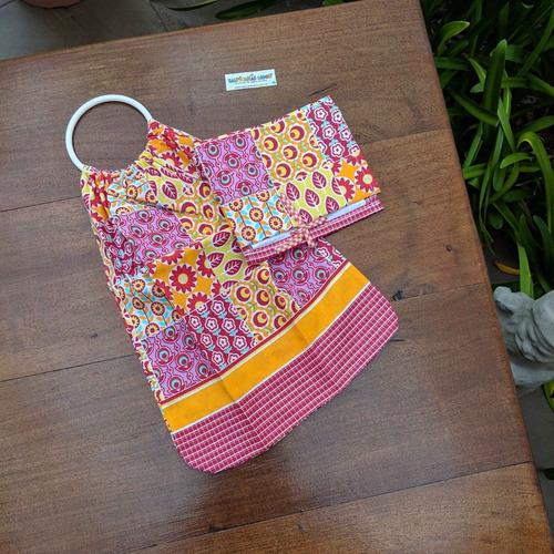 set porta rollo papel higienico algodonero tela regalo