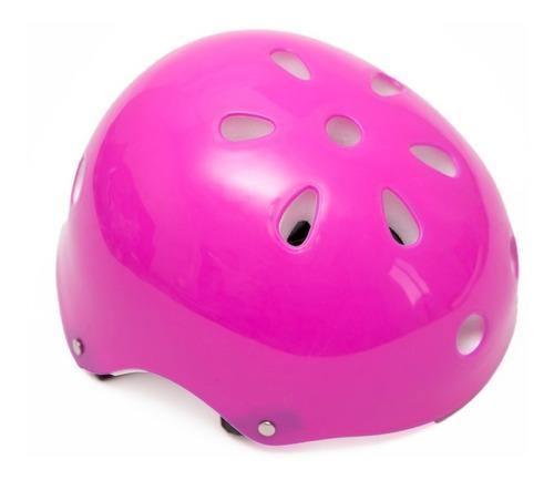 set protecciones de niñas-casco-rodillera-codera-muñequeras