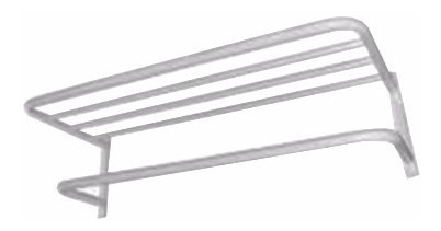 set rack organizador baño 3 estantes metalico cromado oferta