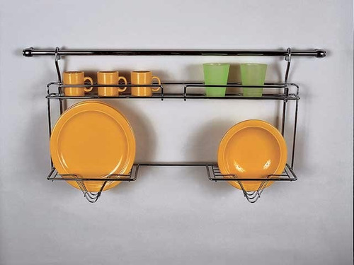 set rack organizador baño 3 estantes rebatible metalico