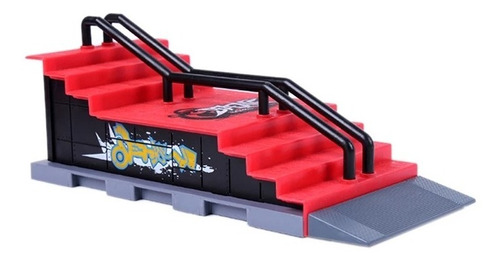 set rampa escalera + fingerboard para tech deck envío gratis