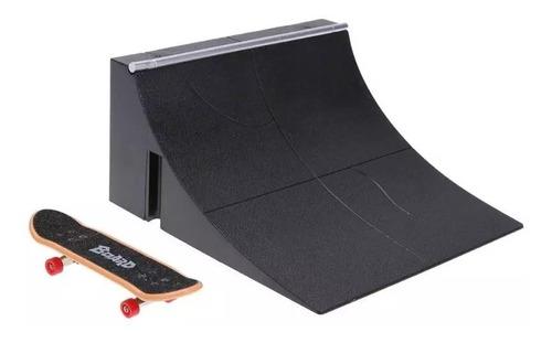 set rampa + fingerboard patineta the limit para tech deck