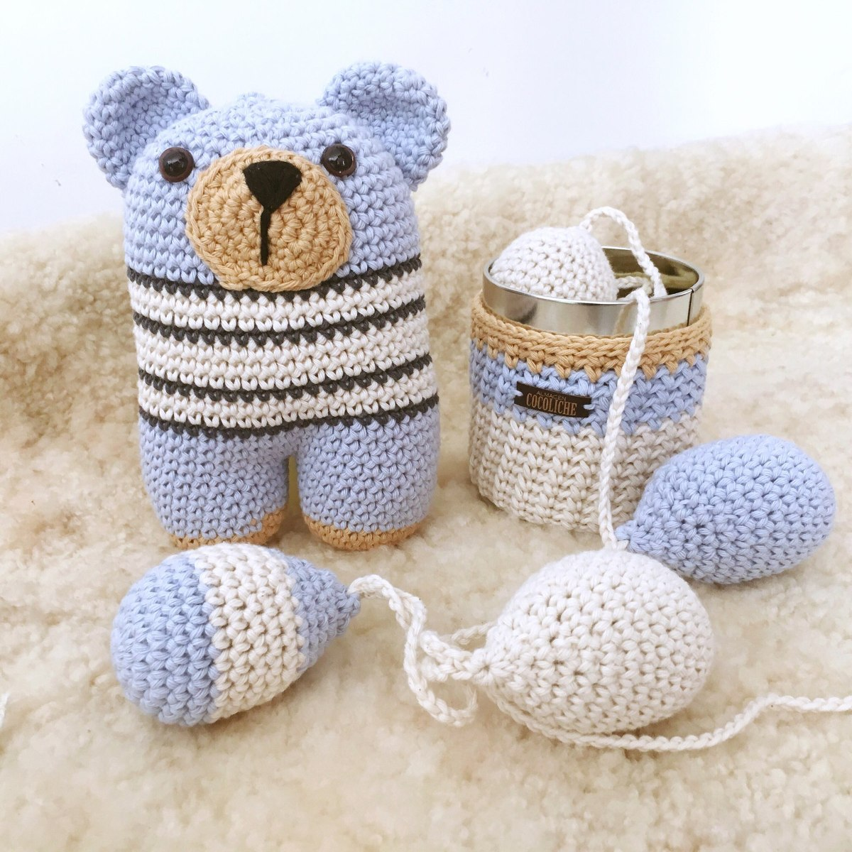 Amigurumi Baby Piggy Kit Crochet   Ganchillo, Patrón de ganchillo ...   1200x1200