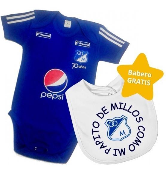 95fc89e0c0a5 Set Ropa Para Bebe Body Y Babero Millonarios