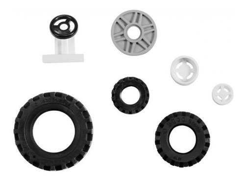 set ruedas lego education