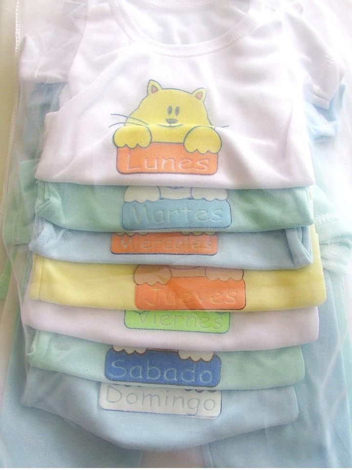 set semanario 14 piezas para niño niña multicolor 0-3 meses. Cargando zoom. 0cd27280e00