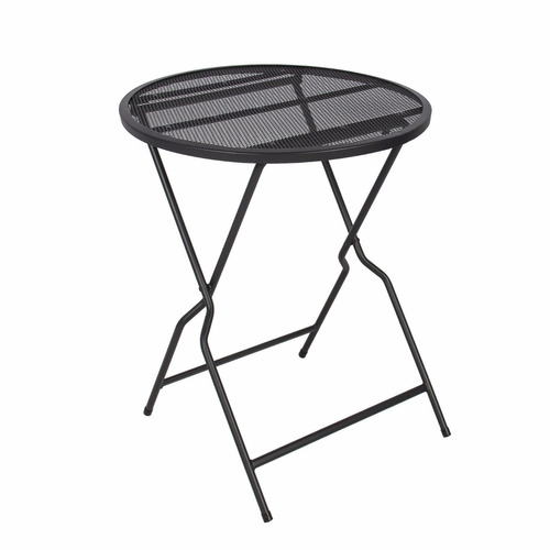 set sillas mesa plegables metalicas resistentes aire libre