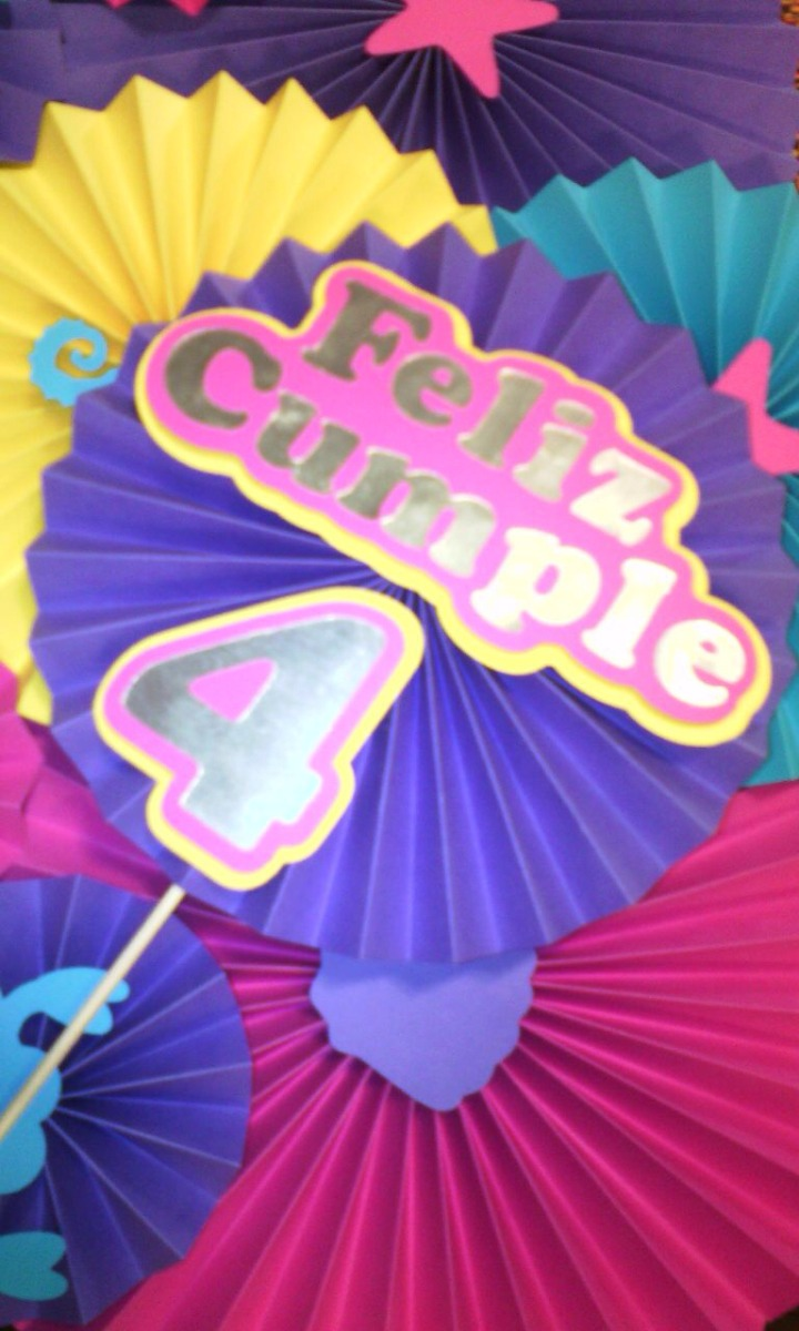 Set Sirenita Ariel Para Cumpleanos Bs 0 80 En Mercado Libre