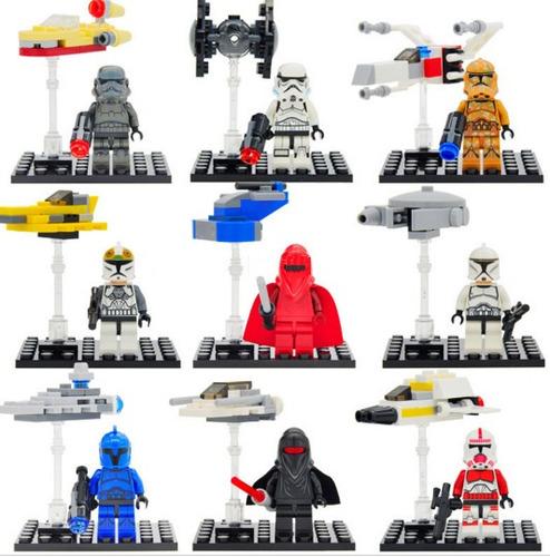 set soldados de pelicula starwars compatible c/lego