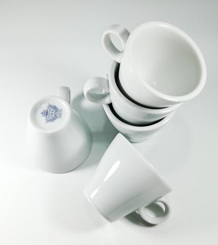 set taza y plato de te conica porcelana tsuji línea 1600