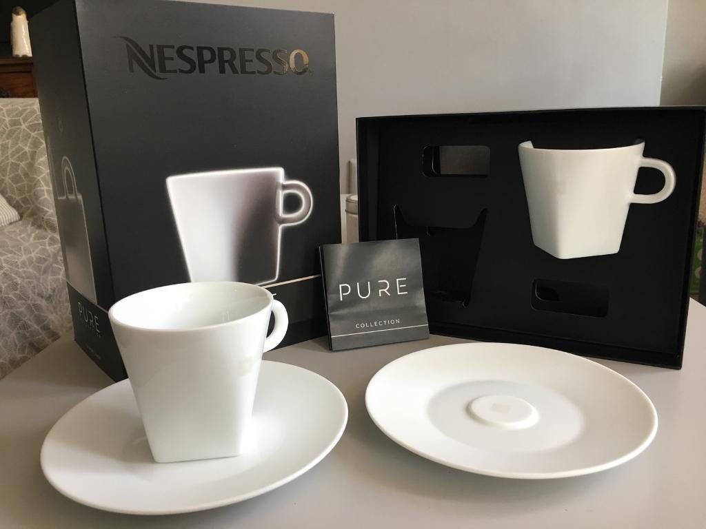 9644c8ed927f3 set tazas nespresso pure collection cappuccino. Cargando zoom.