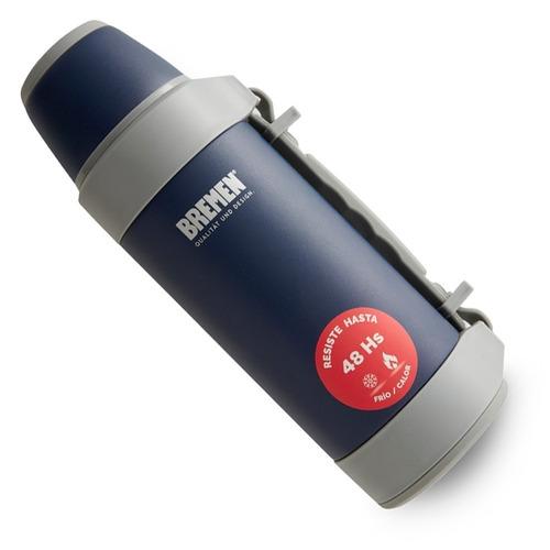 set termo bremen 1,2 litros + termo 600ml acero inoxidable