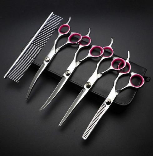 set tijeras grooming 7