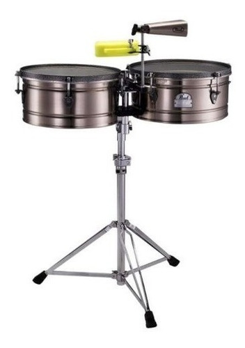 set timbales pearl 14  + 15  marco quiñones ete-1415mq
