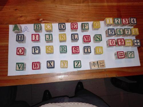 set timbres didácticos madera 48 piezas