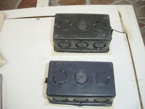 set tomas, interruptores palanca, tapas dobles int/ext eagle
