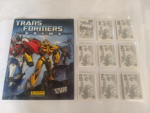 set transformers prime 40v album + todas barajitas a pegar