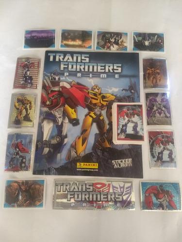 set transformers prime album + todas barajitas a pegar