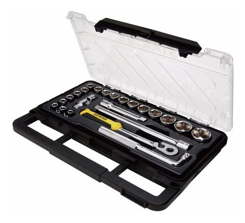 set transmodule llaves tubos 1/2  23 piezas stanley pintumm