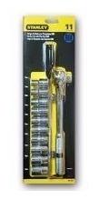 set tubos stanley  milimetros y criquet 1/2  11 pz  86-734