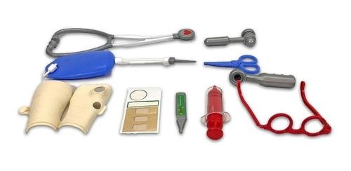 set valija juego de doctor con accesorios juguete 1156 edu