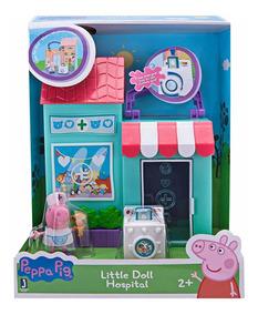Hospital George Little Pig Valija Peppa Muñecos Doll Set rsdtxChQ